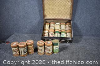16 rolls of Vintage Edison Records