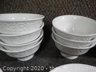 White Gibson Dishes & More