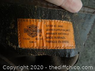Harley Davidson Boots 7.5