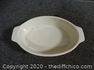 Bradshaw Dish needs to be scrubbed