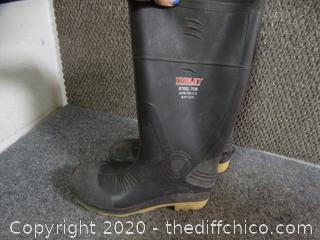 Tingley Steel Toed Boots 9