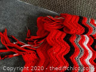 RED, BLACK ,WHITE, Silver Blanket