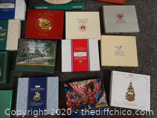 White House Christmas Ornaments
