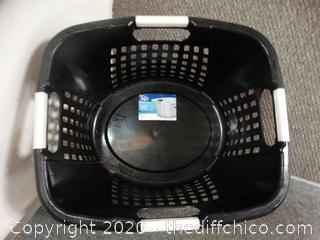 Black Laundry Basket