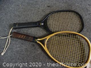 2 Rackets