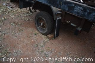 "'As is"" Home Made Trailer and More-has brakes"