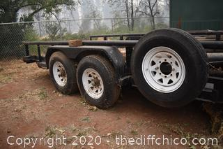 Big Tex Trailer with Winch and Ramps