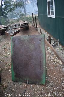 Metal John Deere Canopy