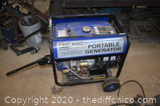 Chicago 6500 Portable Generator-untested