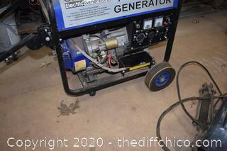 Chicago 6500 Portable Generator-untested
