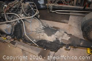 Ford 460 3 Speed Engine and Transmission