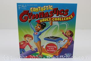 Hasbro Games Fantastic Gymnastics Vault Challenge Game Board Game Family Night