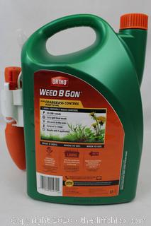 NEW Ortho Weed B Gon 1.33 gal. Plus Crabgrass Control Ready-To-Use2 with Comfort Wand