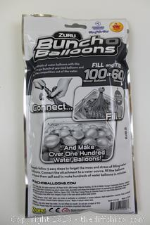 NEW Bunch O Balloons 100 Rapid-Filling Self-Sealing Water Balloons