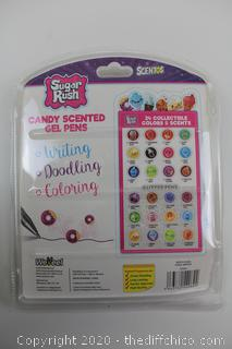 Sugar Rush Candy Scented Gel Pens 24count NEW!