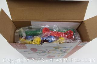 Marble Run 50 Pcs Piece Construction Toy Game Set Maze Race Track Building