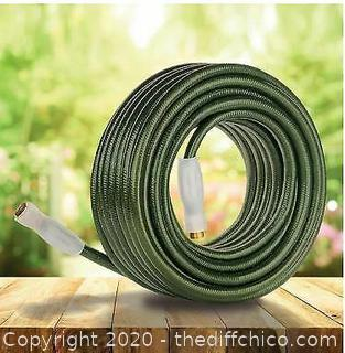 Flexon Contractor Grade Hose with Guard & Grip 5/8 in. x 100 ft.