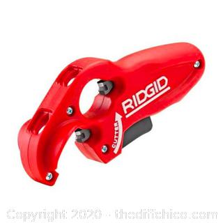 Ridgid 1-1/4 in. to 1-1/2 in. PTEC 3000 Plastic Tubing Cutter (J4)