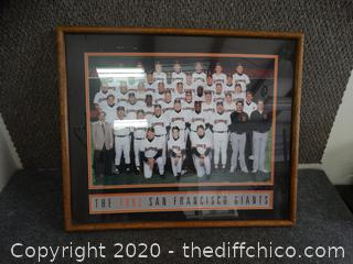 San Francisco Giants Picture 1992