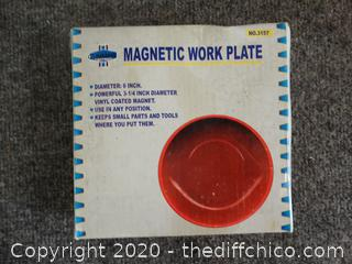 Magnetic Work Plate