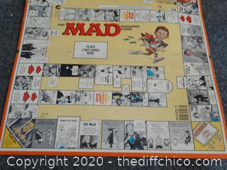 Mad Game Board