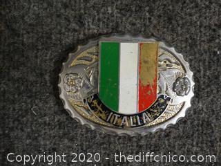 Italian Belt Buckle