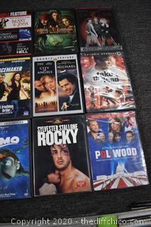 18 DVD's