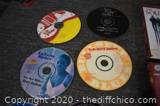 DVD's, CD's and Game