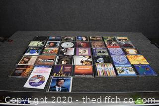 37 CD's