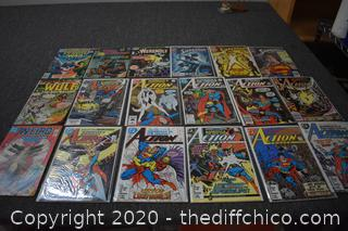 18 Comic Books