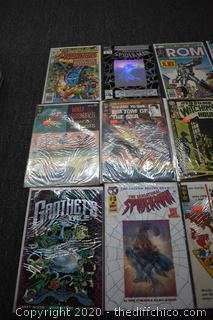 18 Comic Books