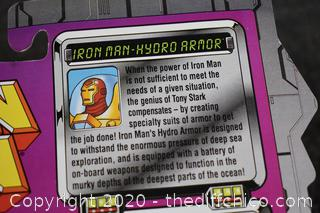 NIB Iron Man Hydro Armor