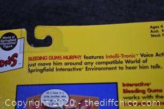 NIB Simpsons Bleeding Gums Murphy