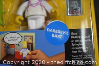 NIB Simpsons Daredevil Bart