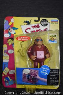 NIB Simpsons Bleeding Gums Murphy