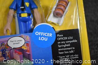 NIB Simpsons Officer Lou