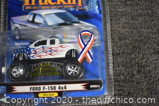 3 NIB Truckin Collectible