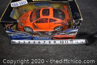 NIB Muscle Machines Car