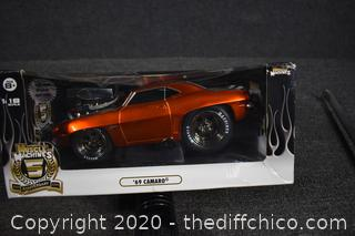 NIB Muscle Machine 1969 Camaro in Box