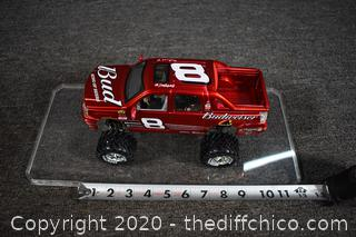 Collectible Budweiser Truck w/Plastic Cover