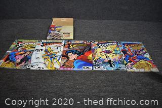 5 Collectible Superman Comic Books