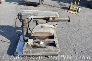 Working Delta Arm Saw