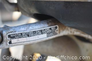 Untested Martin 20 Motor