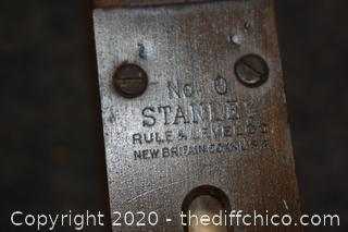 Stanley No. O 26in long Level