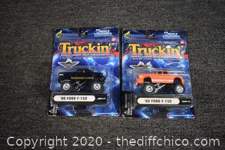 2 NIB Truckin Collectibles