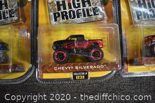 3 NIB High Profile Collectible Cars