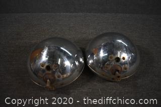 2 Vintage Headlights