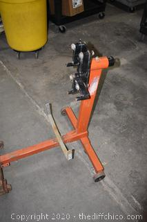 Rolling Engine Stand