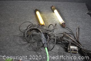 2 Working Work Lights