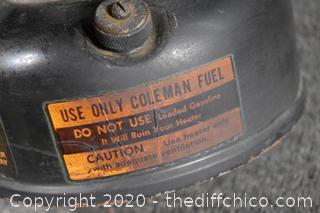 Coleman Gas Heater 350BTU